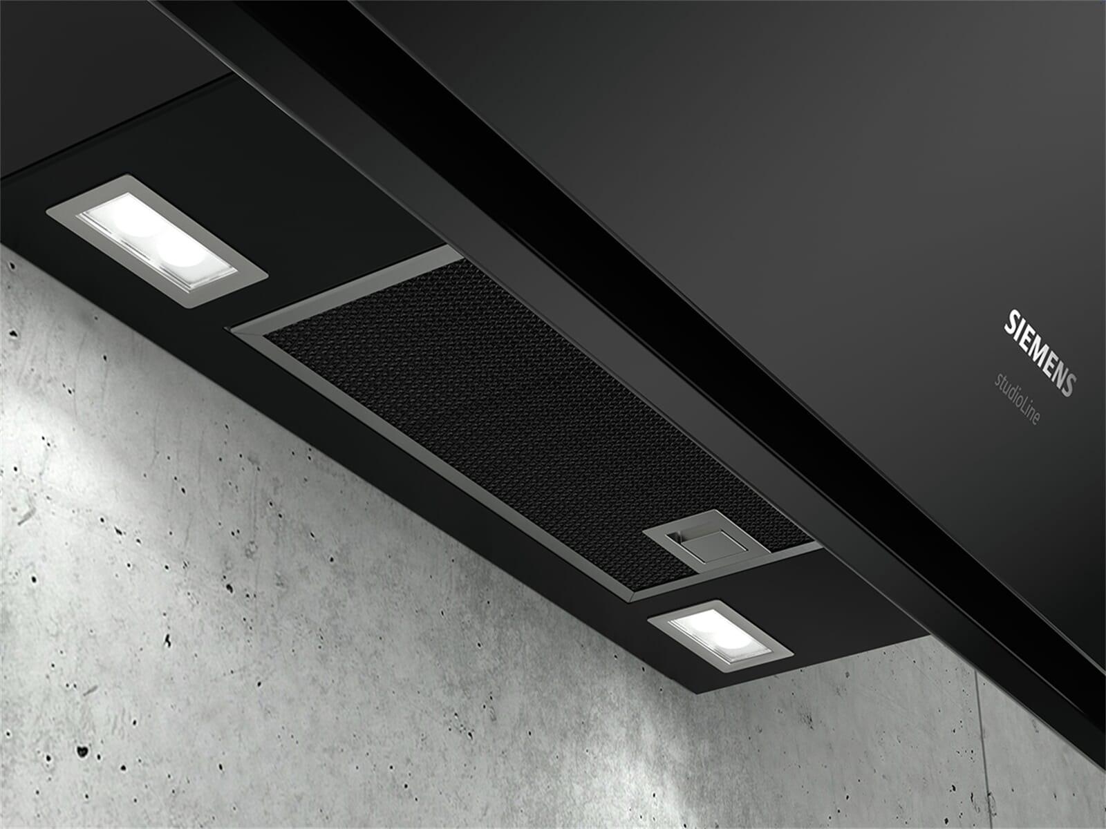 Siemens studioLine LC91KWQ60S Kopffreihaube blackSteel