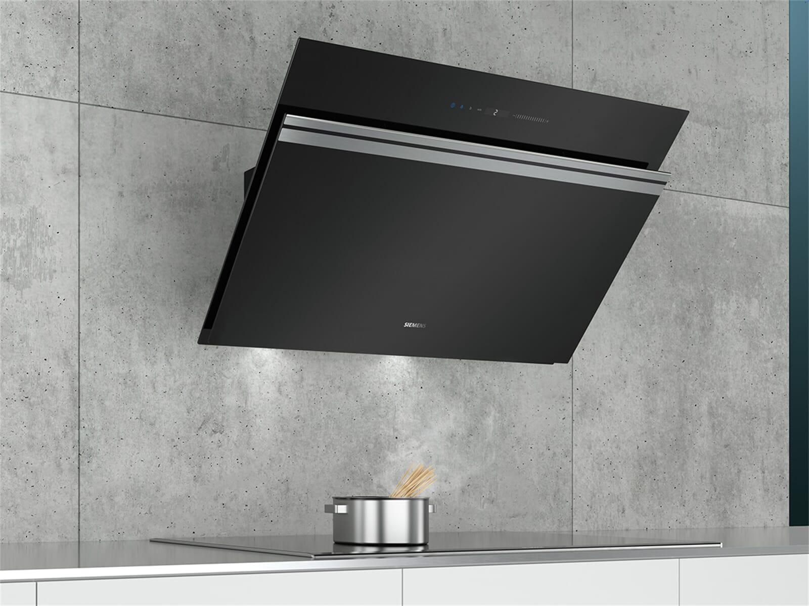 siemens lc91kwv60 kopffreihaube schwarz. Black Bedroom Furniture Sets. Home Design Ideas