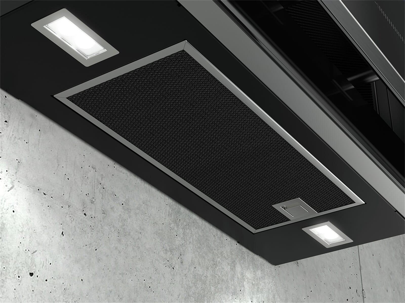 Siemens studioLine LC97FVW60S Kopffreihaube blackSteel