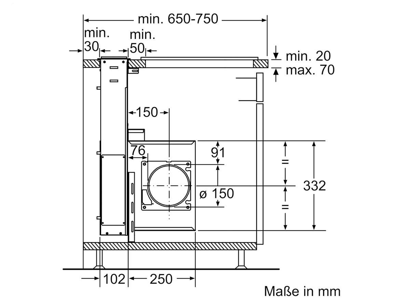 siemens studioline ld97aa670 tischhaube edelstahl. Black Bedroom Furniture Sets. Home Design Ideas