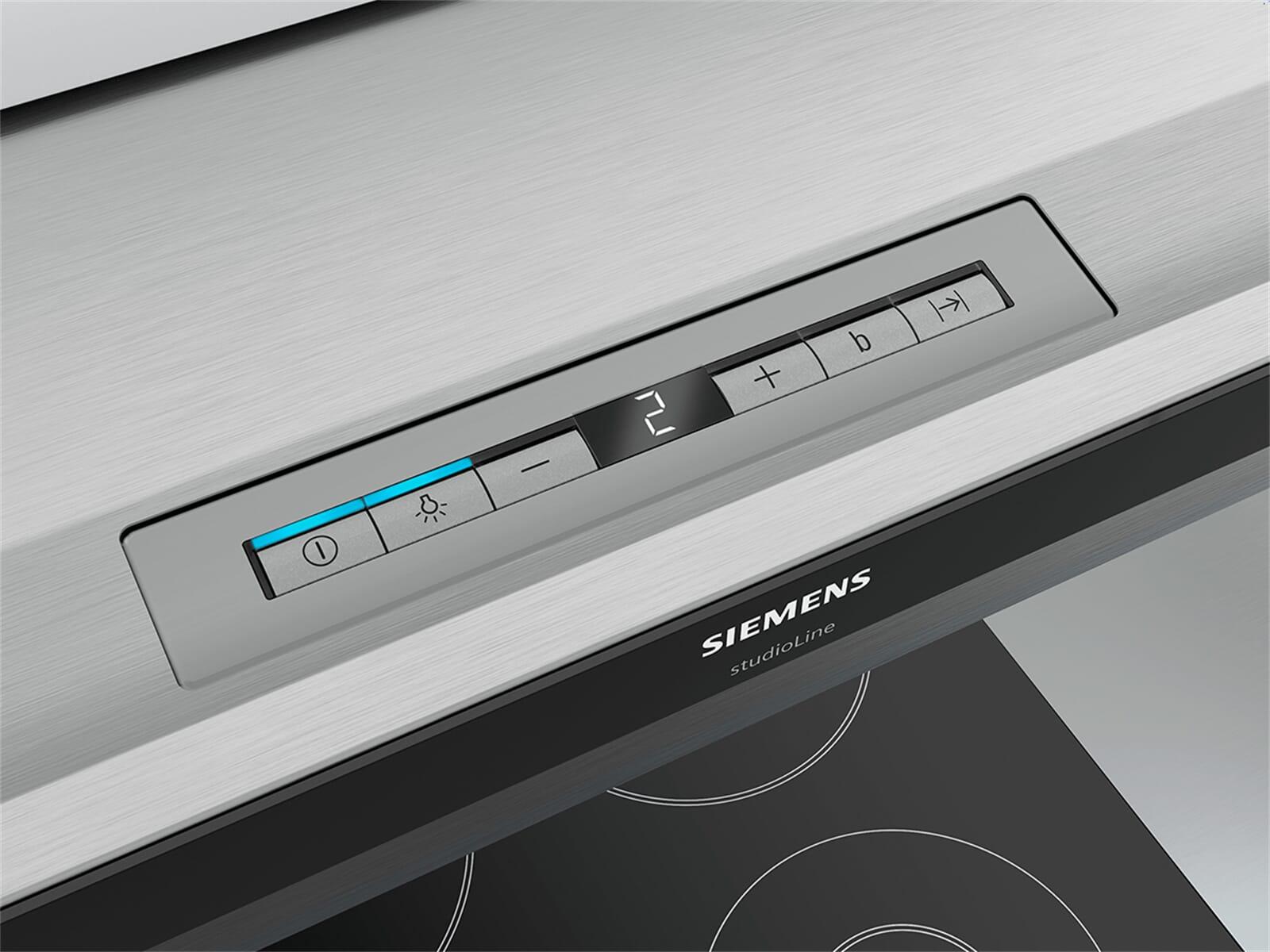 Siemens studioLine LI67SA560S Flachschirmhaube Edelstahl