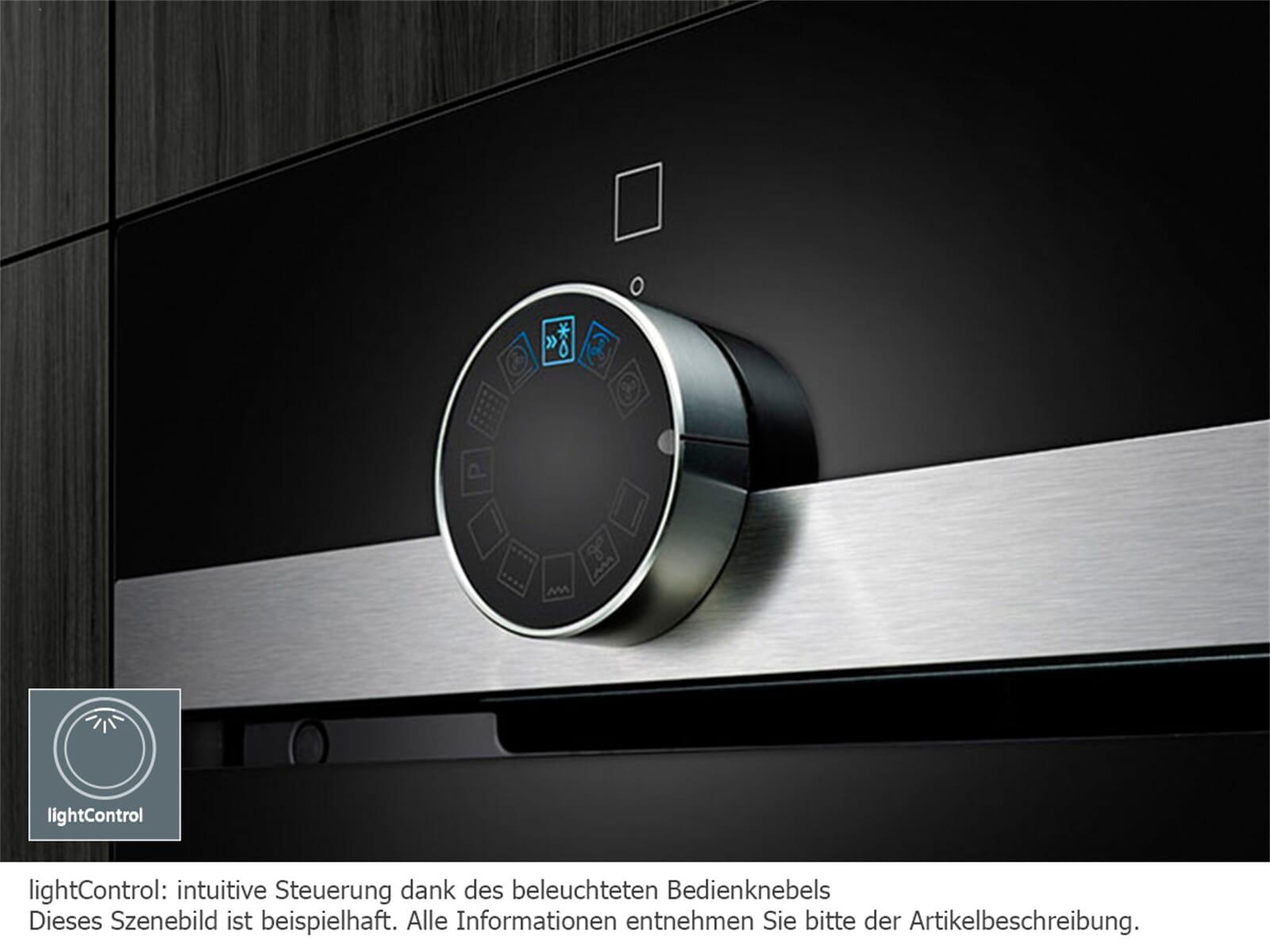 Siemens CM585AMS0 Einbau-Mikrowelle mit Grill Edelstahl