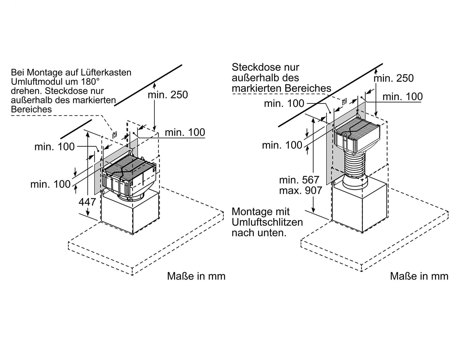 Siemens LZ11CXI16 Clean Air Plus Umluftset