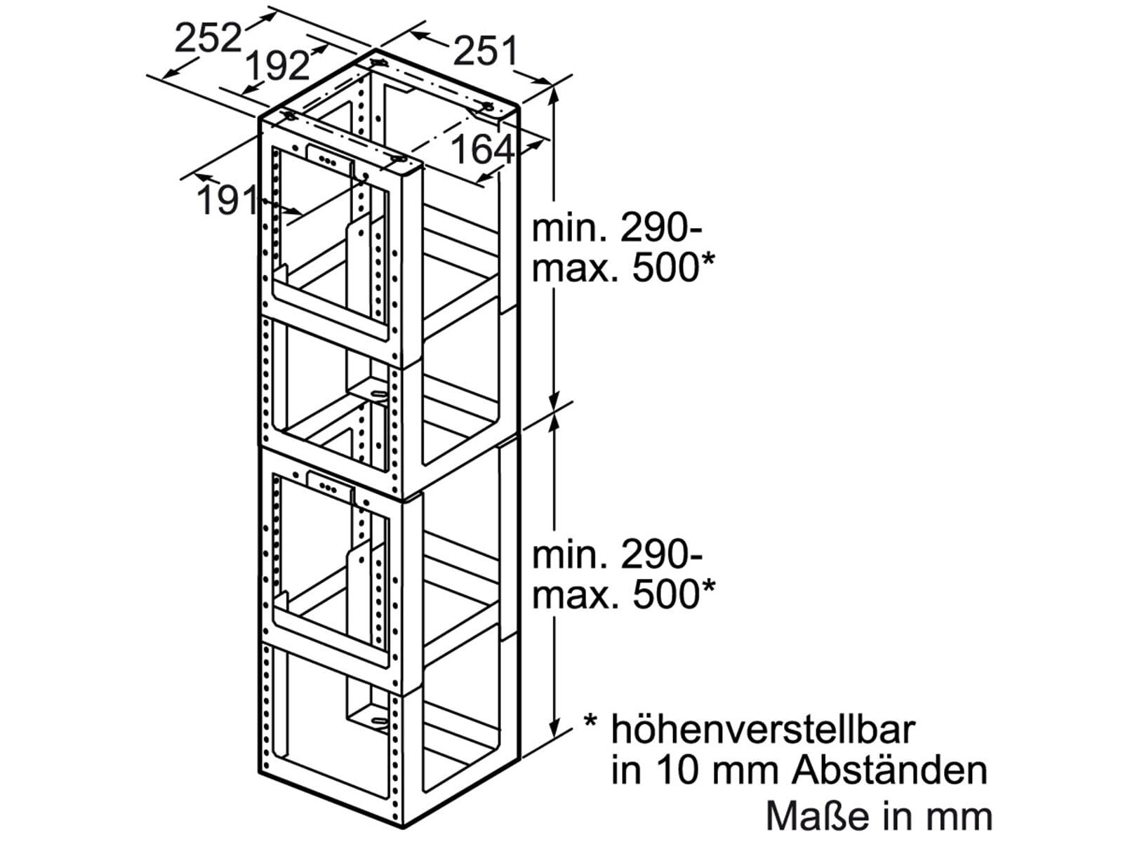 Siemens LZ12520 Montageturmverlängerung 1000 mm