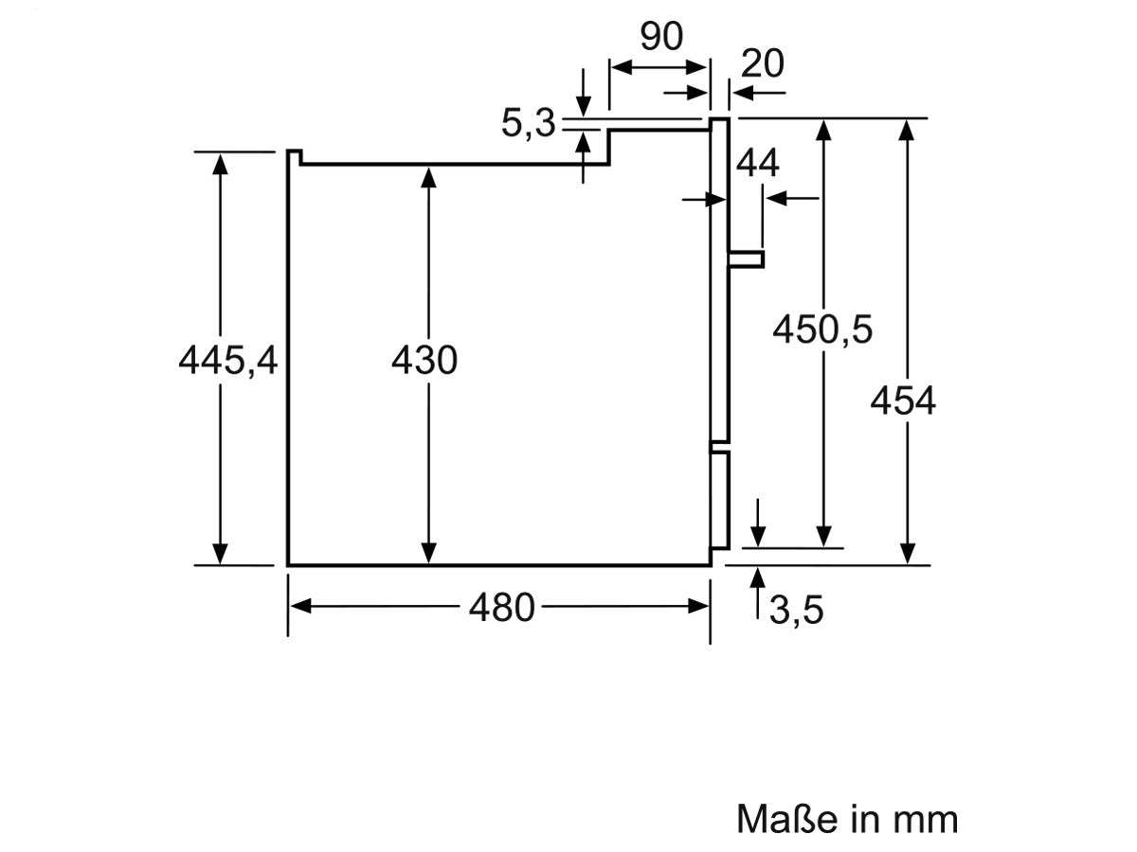 Siemens SK75M521EU Einbau Modular Geschirrspüler