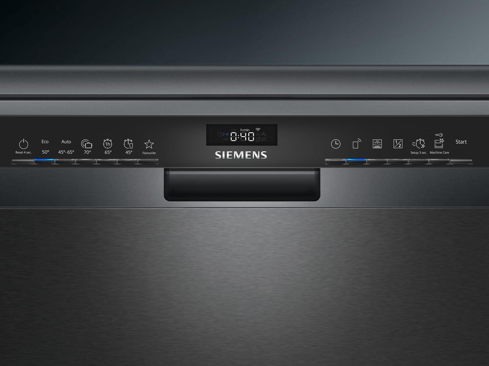 Siemens SN23EC14CE Standgeschirrspüler Black Inox