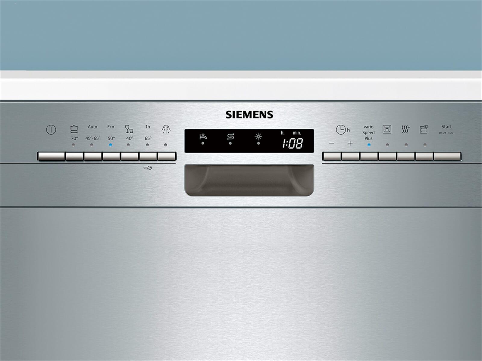 Siemens SN436S03IE Unterbaugeschirrspüler Edelstahl