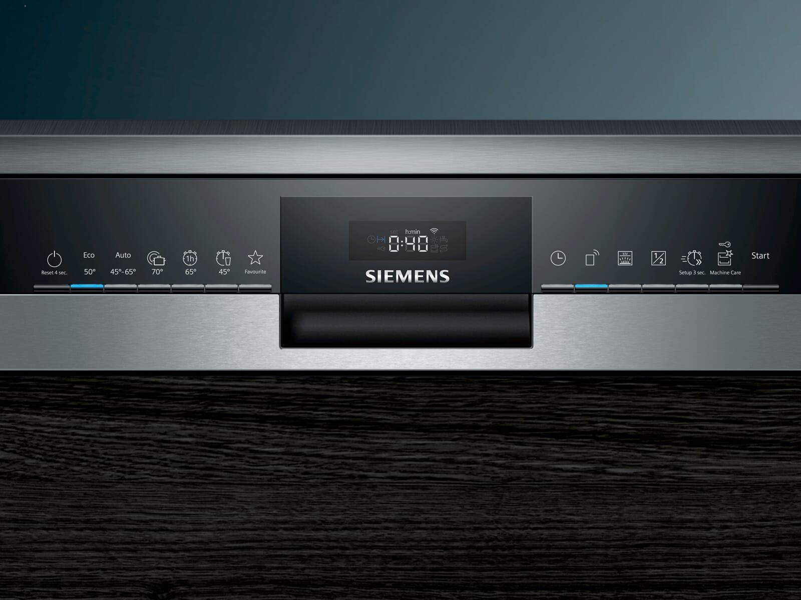Siemens SN53HS36TE Teilintegrierbarer Einbaugeschirrspüler