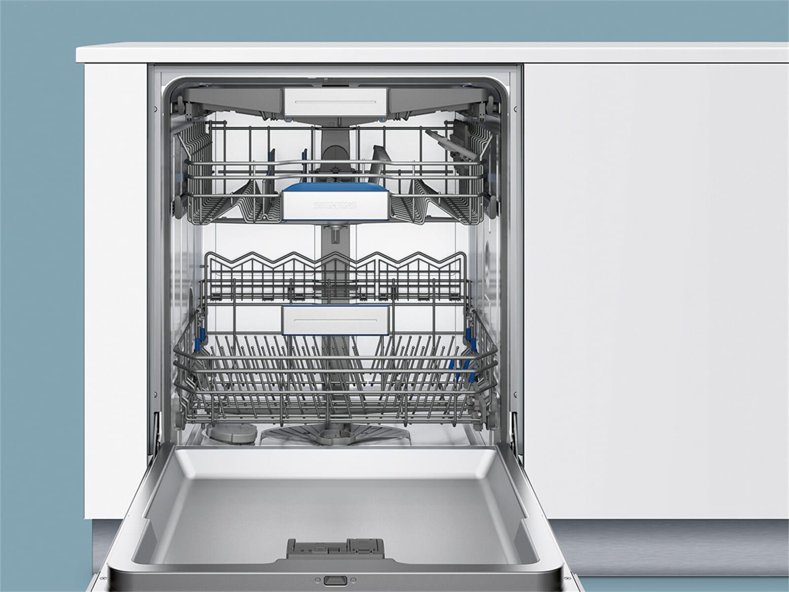 Siemens SN558S06TE Teilintegrierbarer Einbaugeschirrspüler Edelstahl