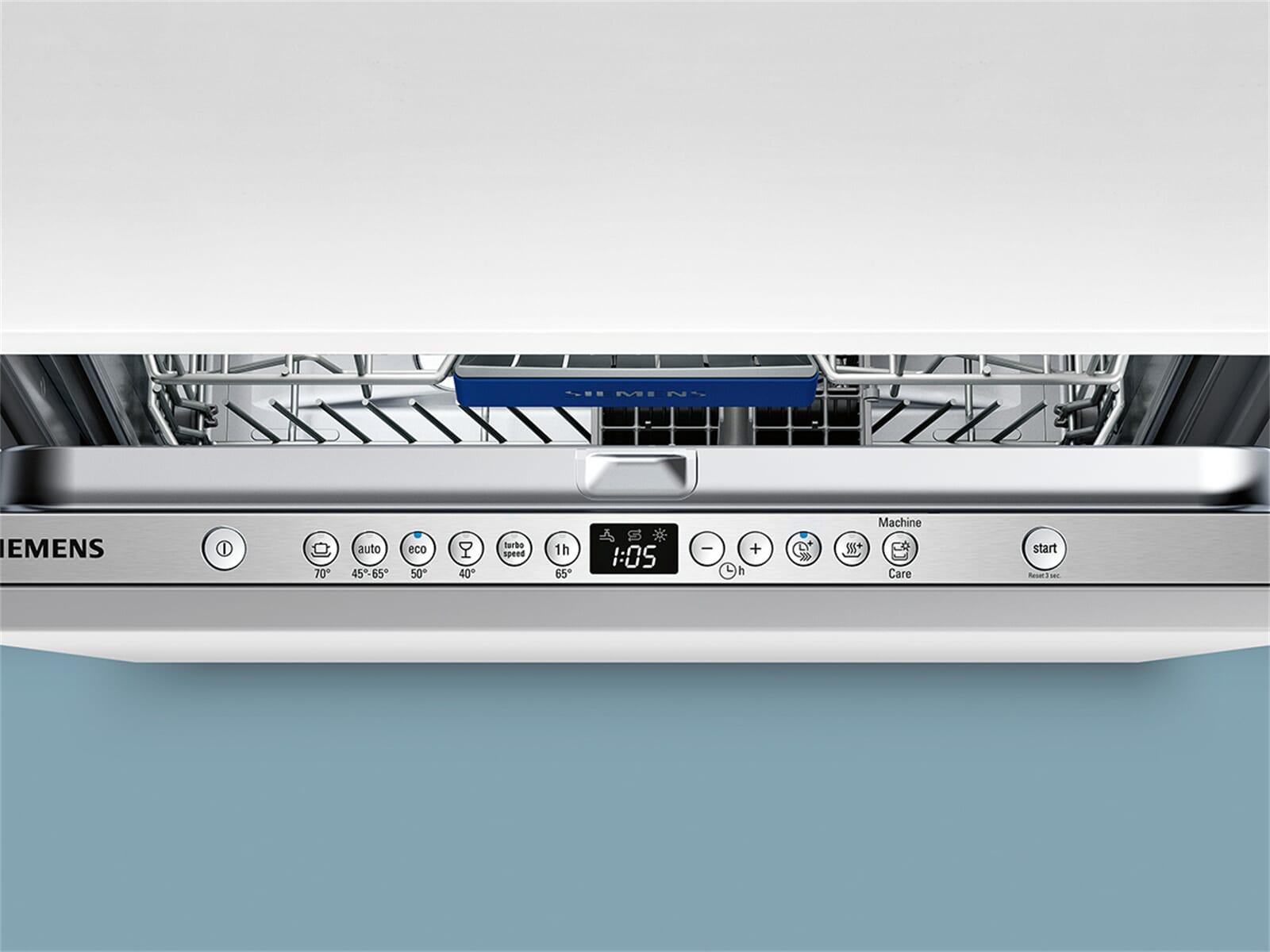 Siemens SN636X01IE Vollintegrierbarer Einbaugeschirrspüler