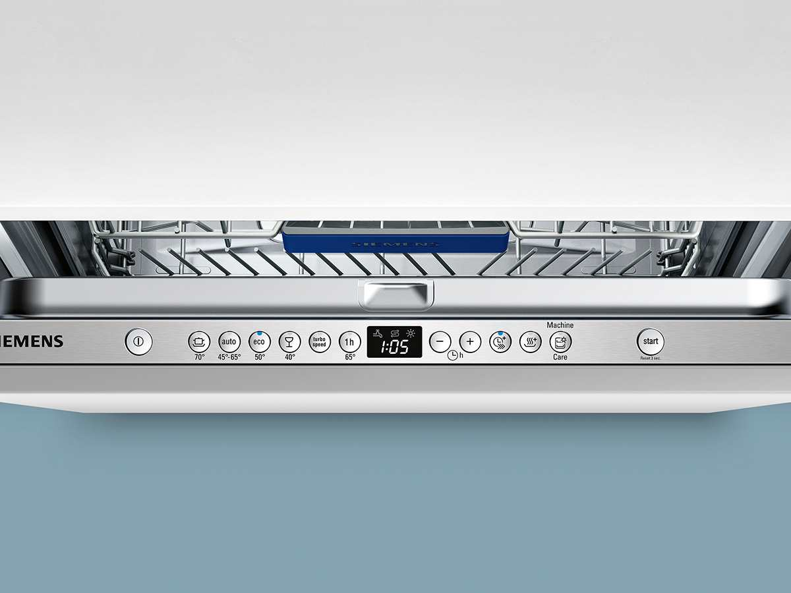 Siemens SN636X01ME Vollintegrierbarer Einbaugeschirrspüler