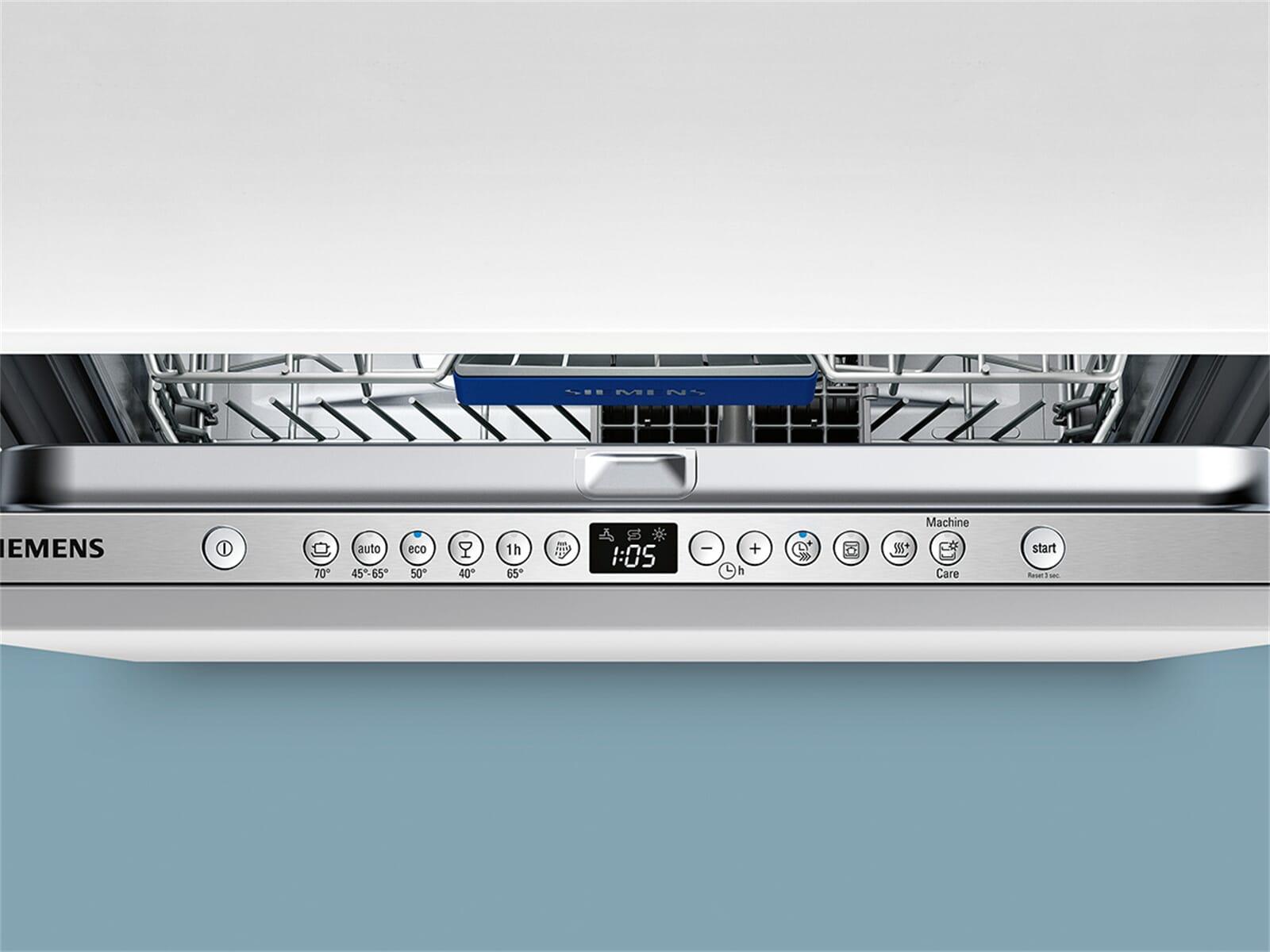 Siemens SN636X03IE Vollintegrierbarer Einbaugeschirrspüler