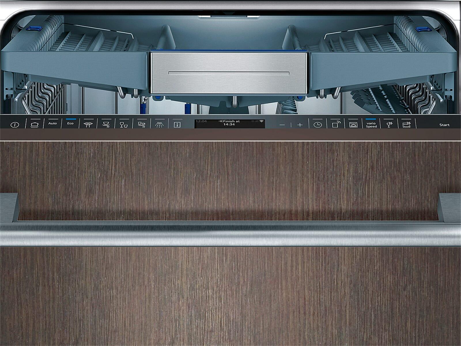 Siemens SN758X06TE Vollintegrierbarer Einbaugeschirrspüler