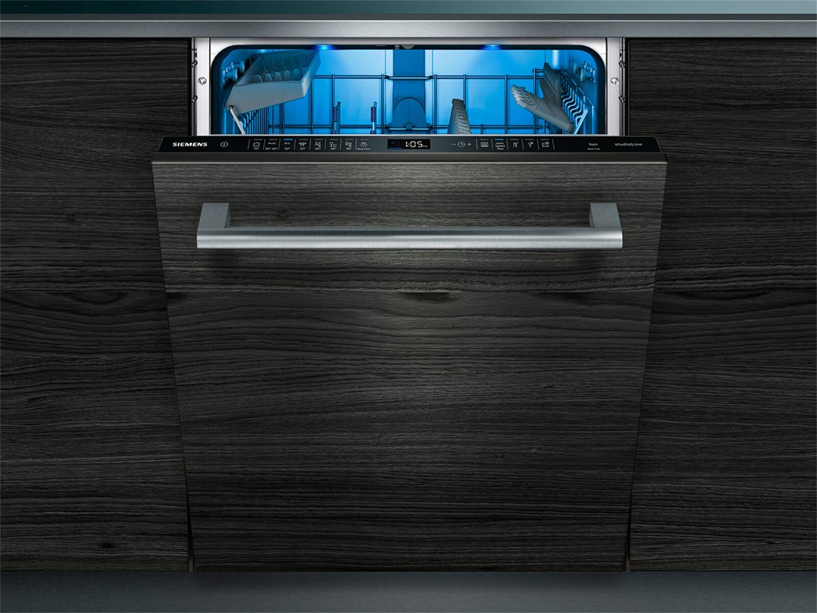 Siemens studioLine SN858X04PE Vollintegrierbarer Einbaugeschirrspüler