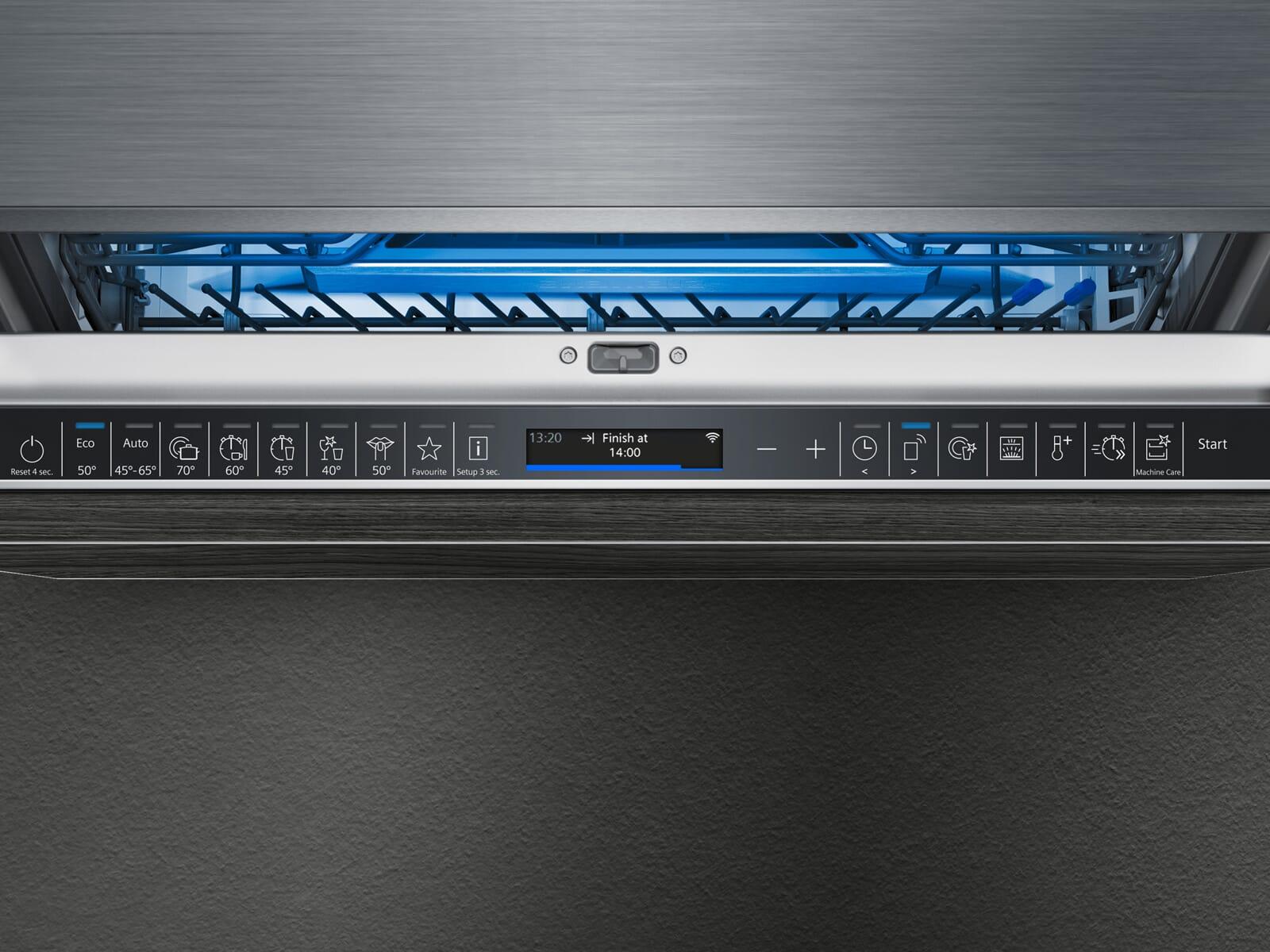Siemens SN87YX01CE Vollintegrierbarer Einbaugeschirrspüler