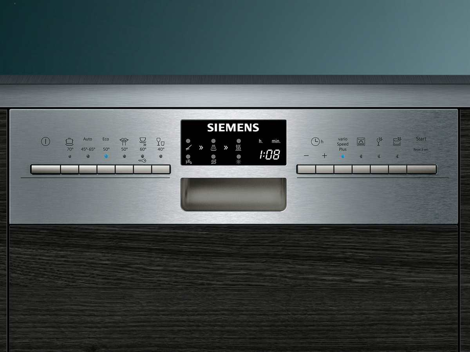 Siemens SR556S01TE Teilintegrierbarer Einbaugeschirrspüler