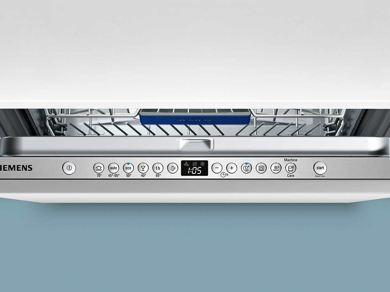 Siemens SX636X01GE Vollintegrierbarer Einbaugeschirrspüler XXL