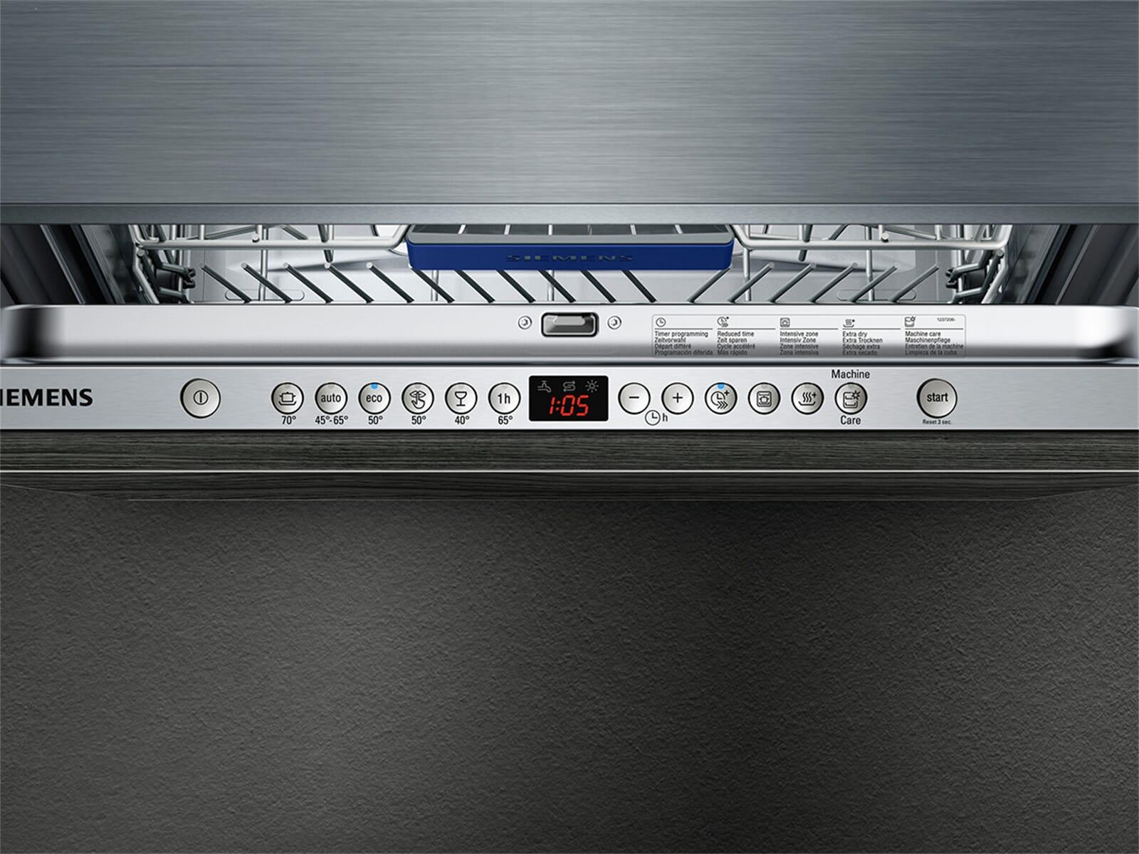 Siemens SX636X01ME Vollintegrierbarer Einbaugeschirrspüler XXL