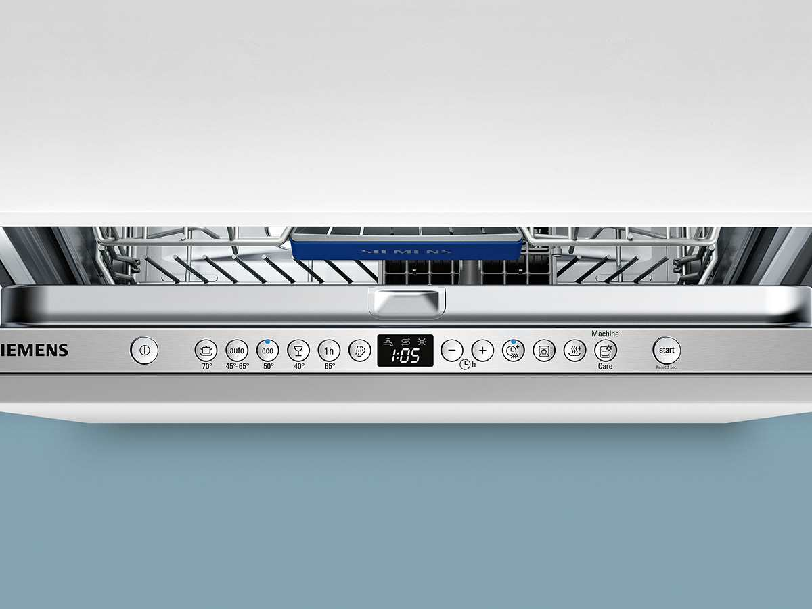 Siemens SX636X03IE Vollintegrierbarer Einbaugeschirrspüler XXL