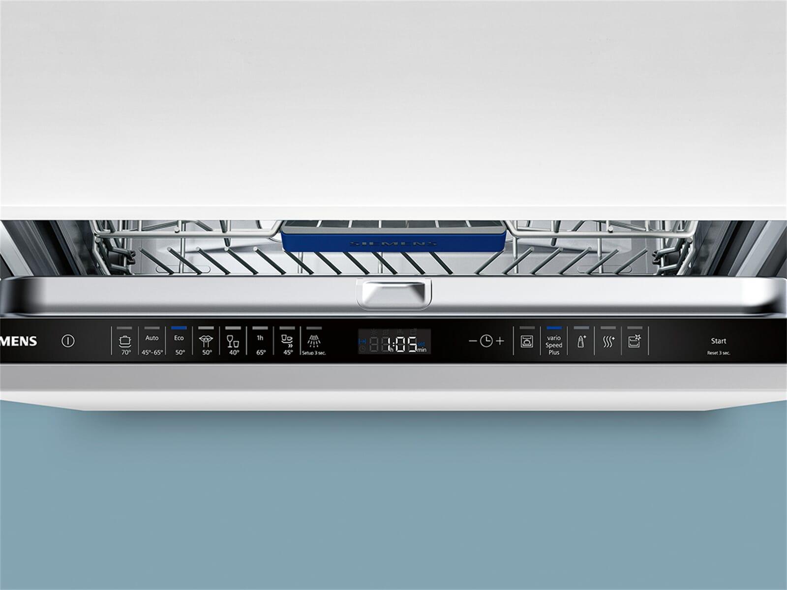 Siemens SX658D02ME Vollintegrierbarer Einbaugeschirrspüler XXL