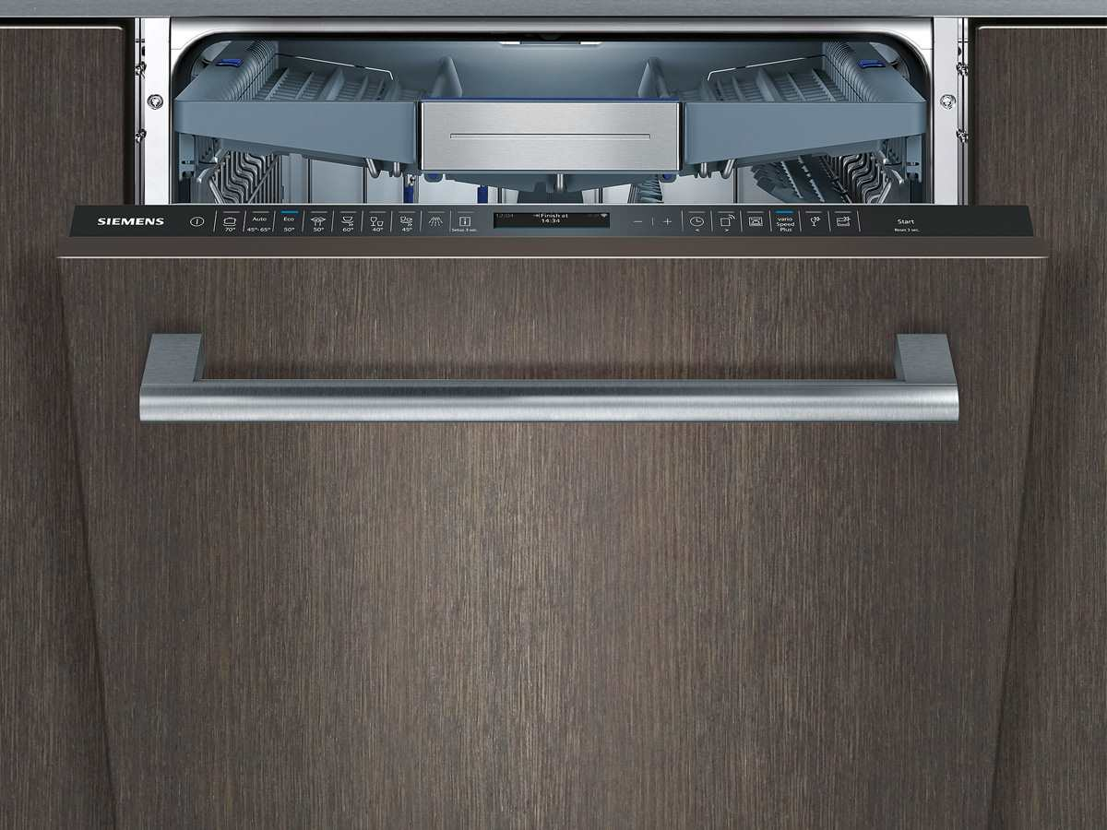 Siemens Kühlschrank Xxl : Siemens sx te vollintegrierbarer einbaugeschirrspüler xxl