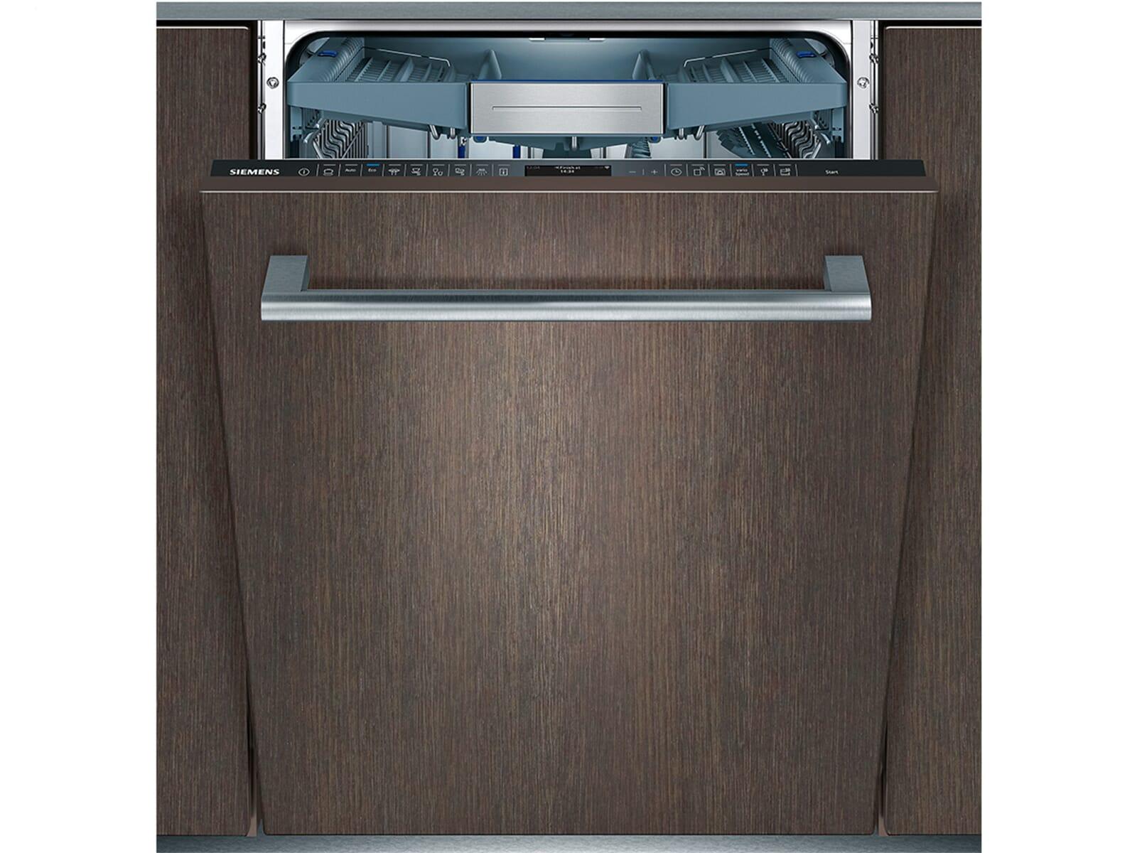 Siemens Kühlschrank Vollintegrierbar : Siemens sx te vollintegrierbarer einbaugeschirrspüler xxl