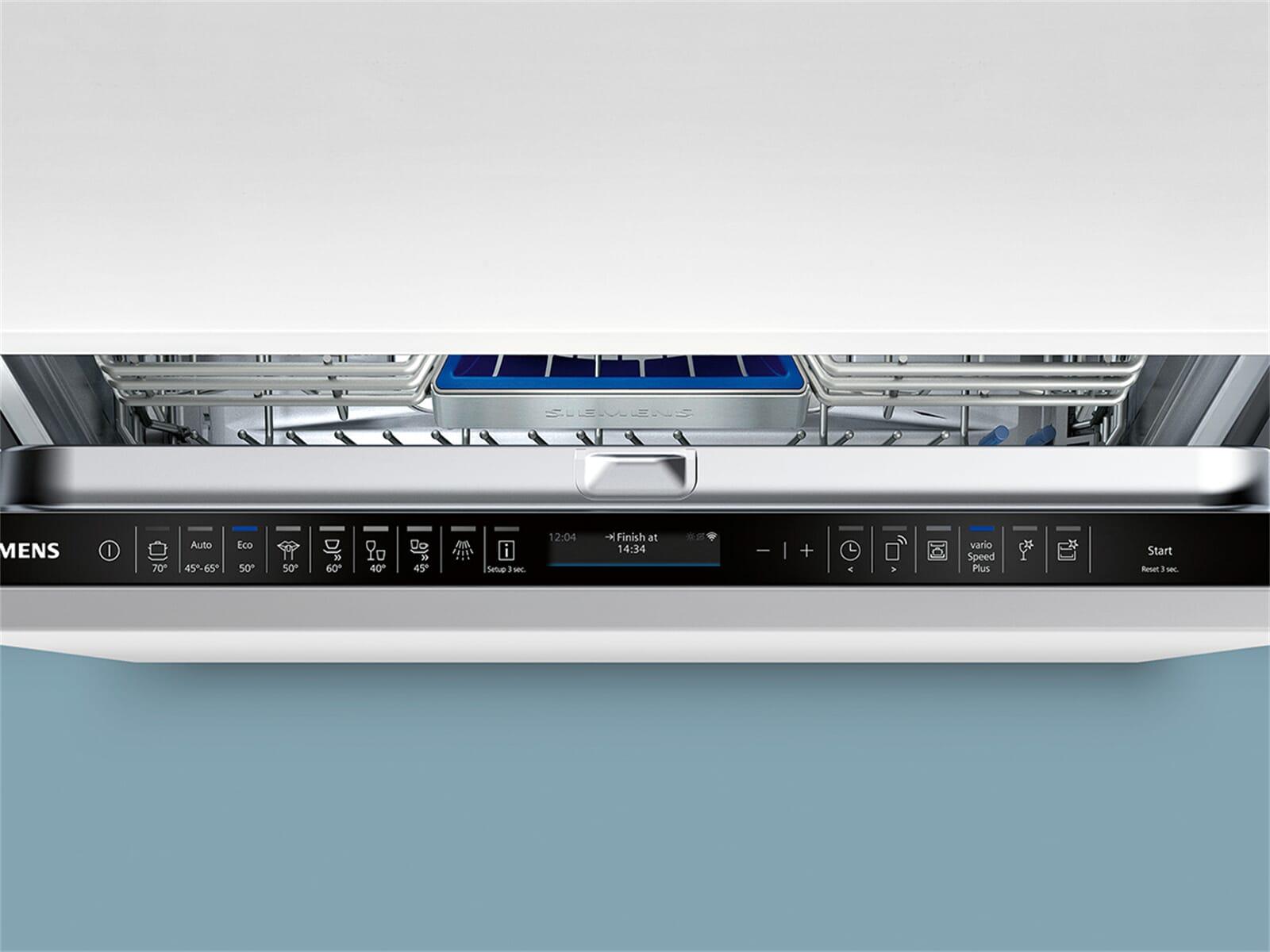 Siemens SX758X06TE Vollintegrierbarer Einbaugeschirrspüler XXL
