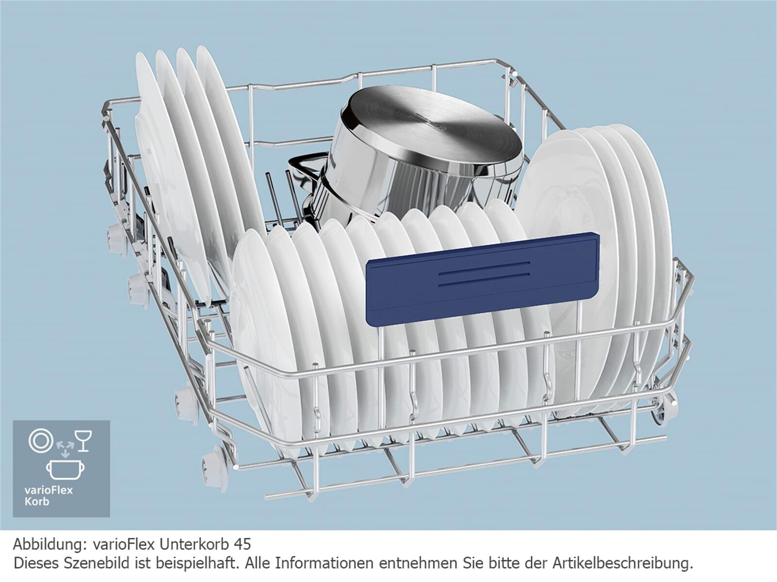 Siemens SR636X01IE Vollintegrierbarer Einbaugeschirrspüler