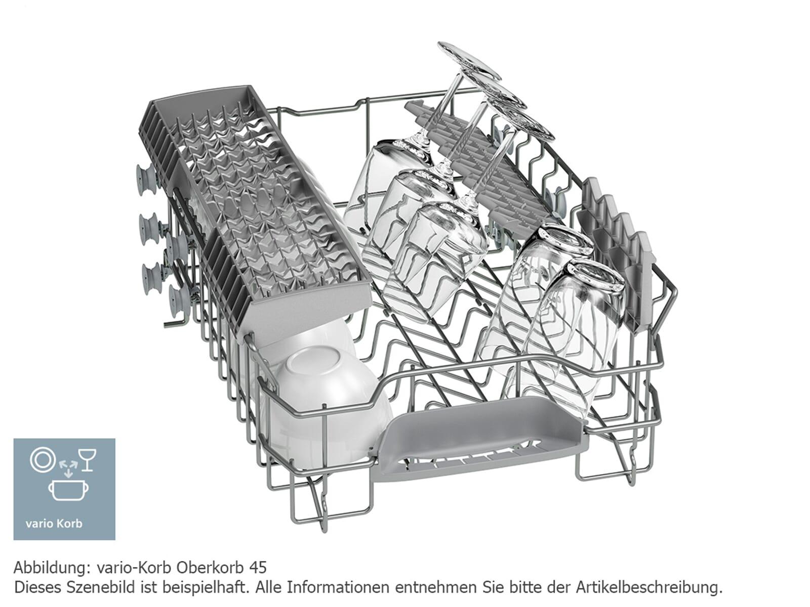Siemens SR415S03CE Unterbaugeschirrspüler Edelstahl