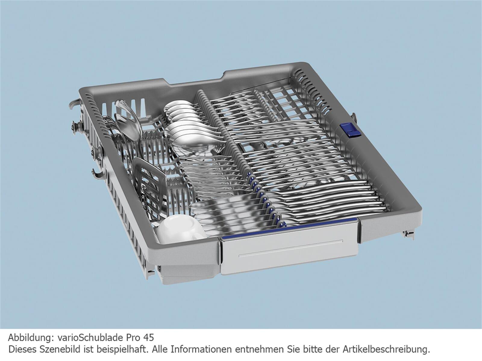 Siemens SR656X01TE Vollintegrierbarer Einbaugeschirrspüler