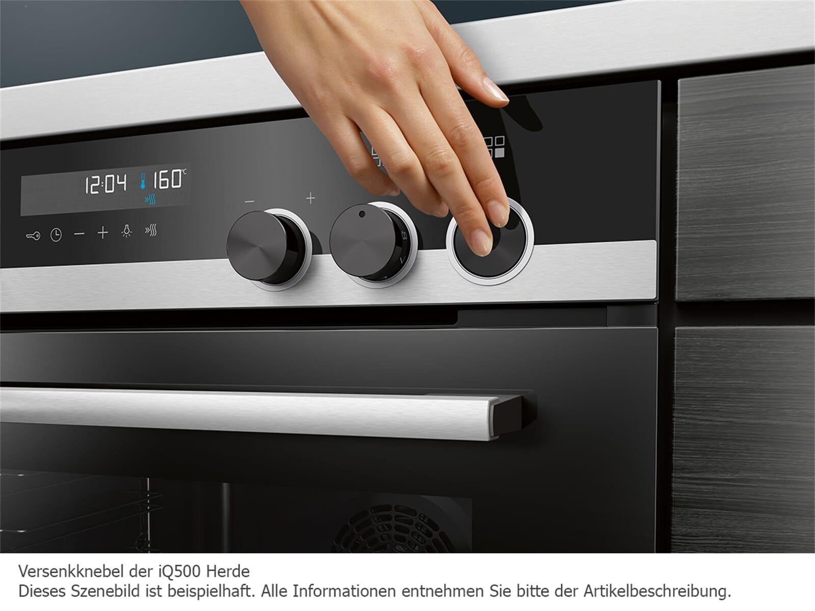 Siemens PQ521IA00 Set Einbauherd HE578ABS1 + Induktionskochfeld EI645CFB1E