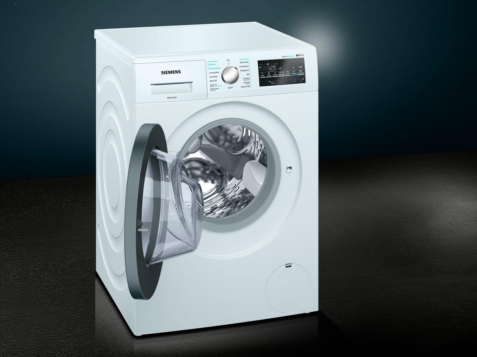 Siemens wd g waschtrockner weiß