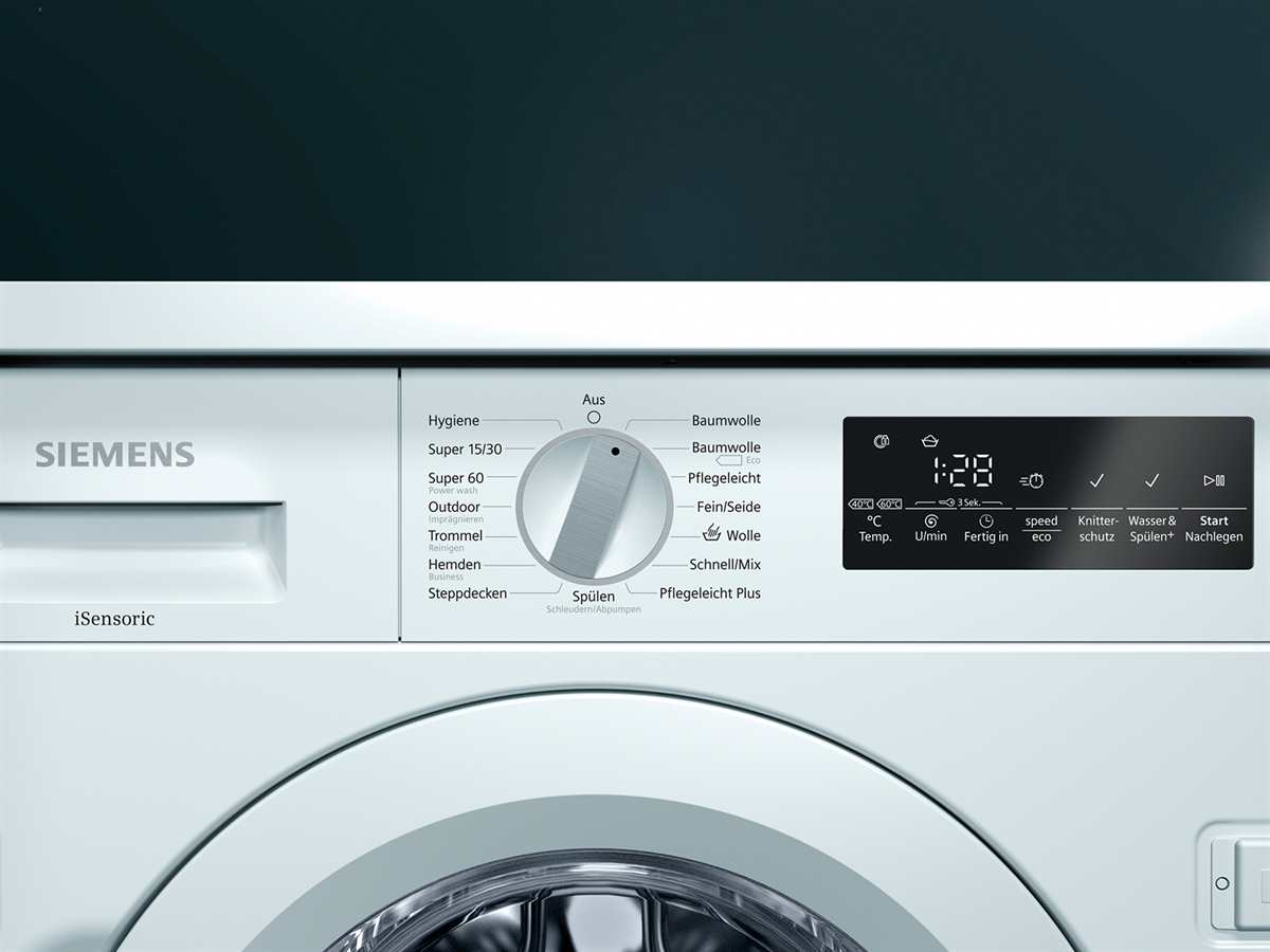 Siemens WI14W440 Einbauwaschmaschine
