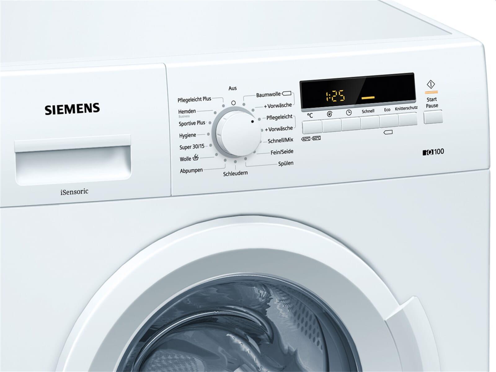 siemens wm14b222 waschmaschine wei. Black Bedroom Furniture Sets. Home Design Ideas