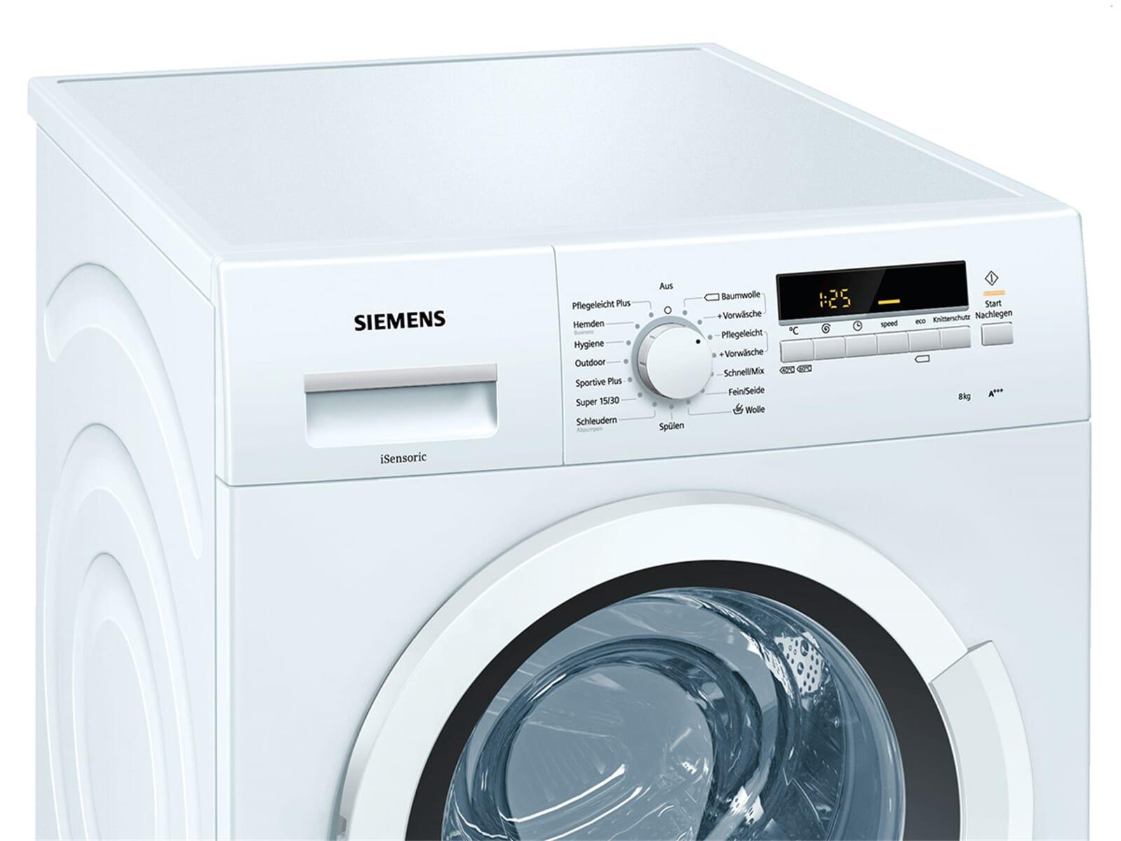 Siemens wm14k2eco waschmaschine weiß