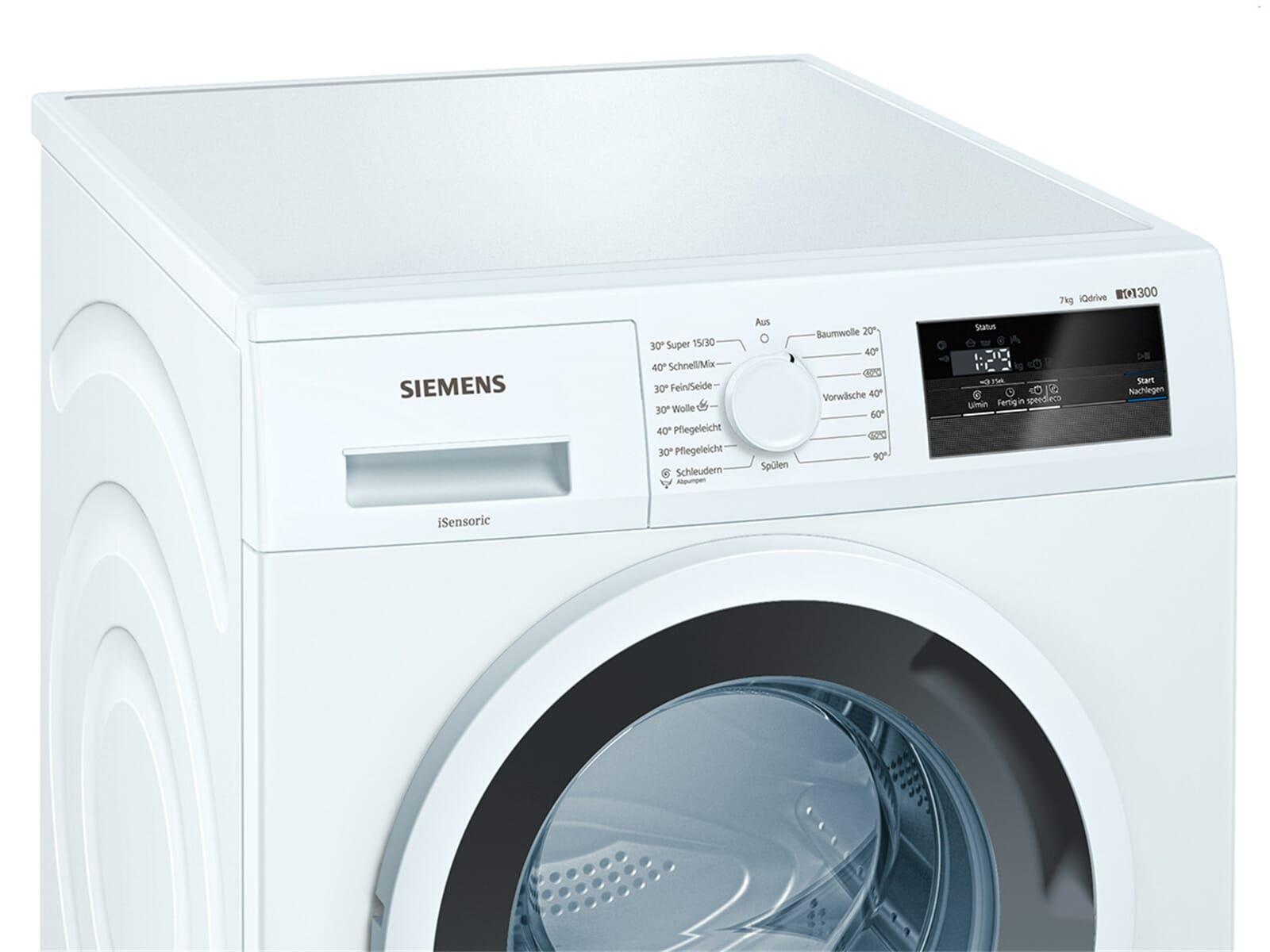siemens wm14n0a1 waschmaschine wei ebay. Black Bedroom Furniture Sets. Home Design Ideas