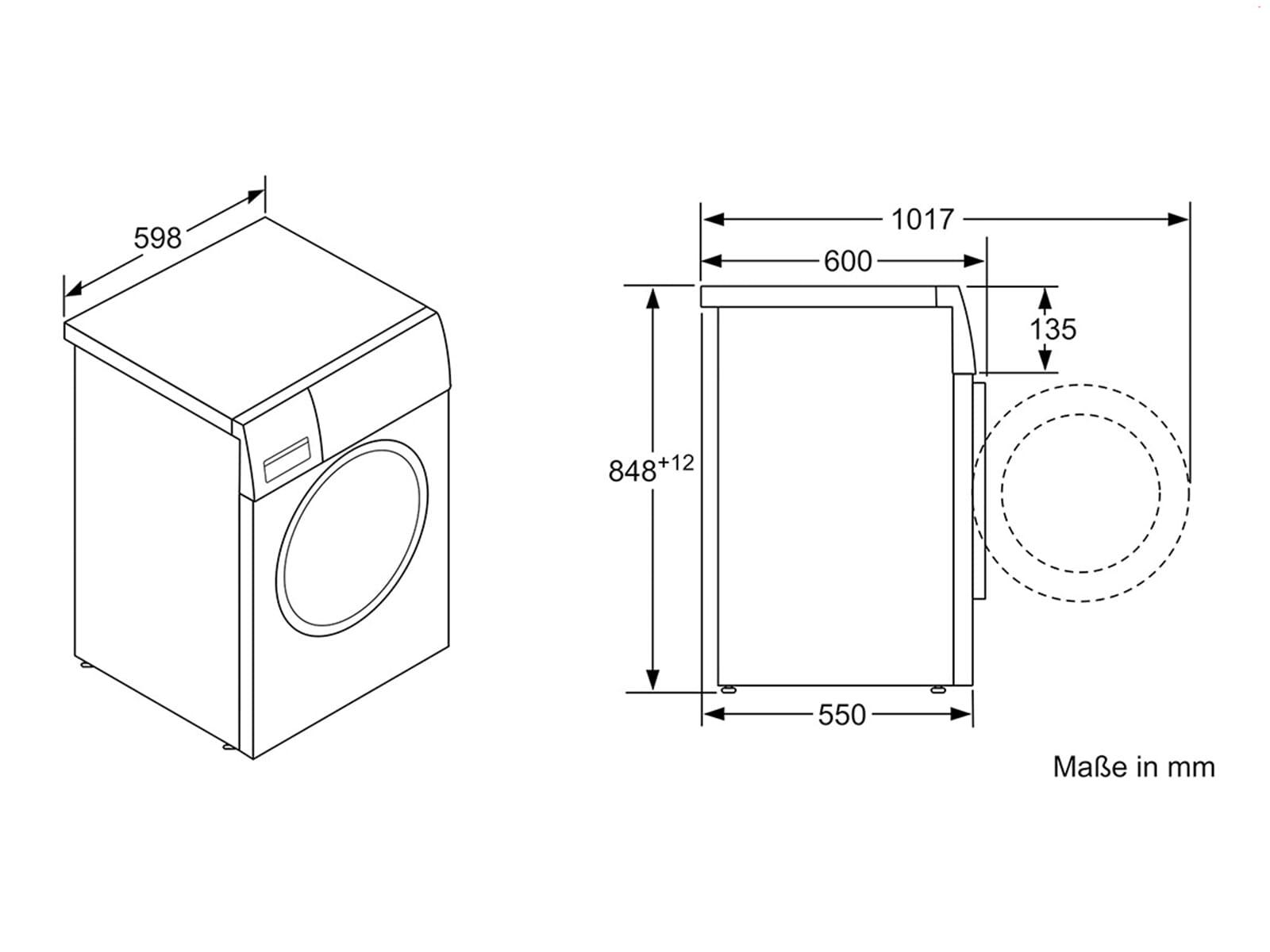 Beliebt Siemens WM14N0A1 Waschmaschine Weiß QQ06