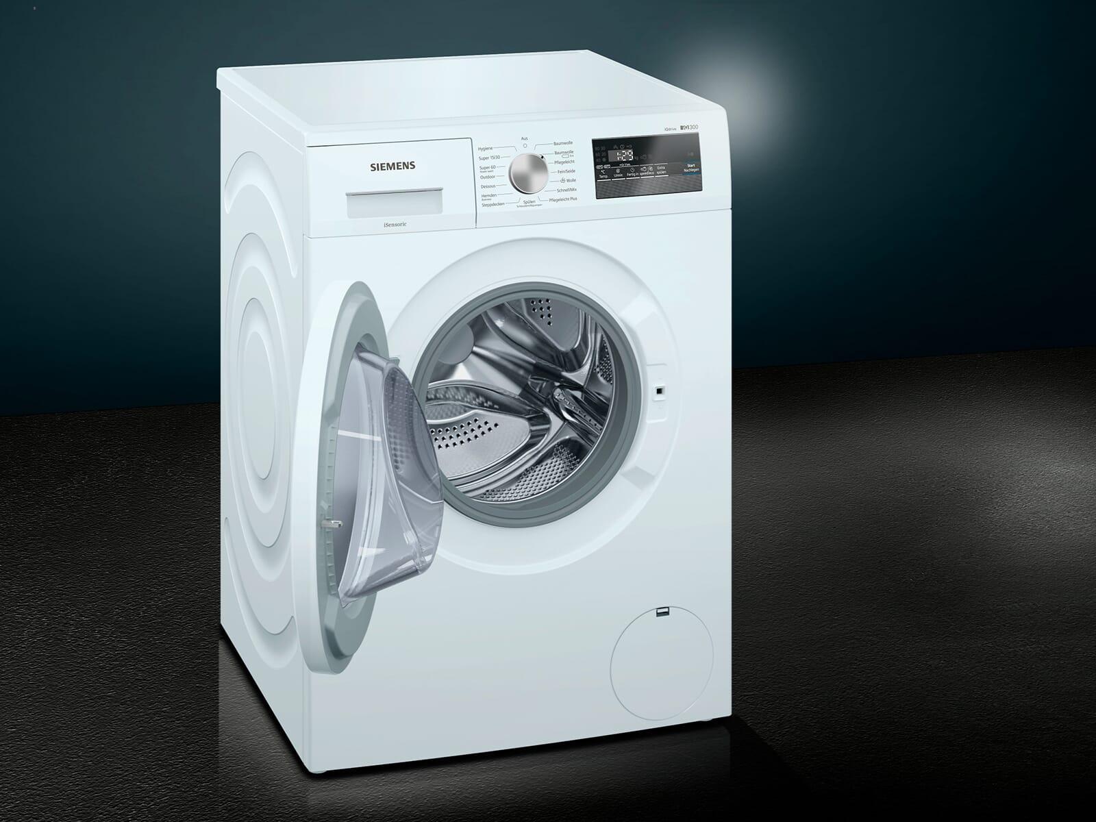siemens wm14n121 waschmaschine wei ebay. Black Bedroom Furniture Sets. Home Design Ideas