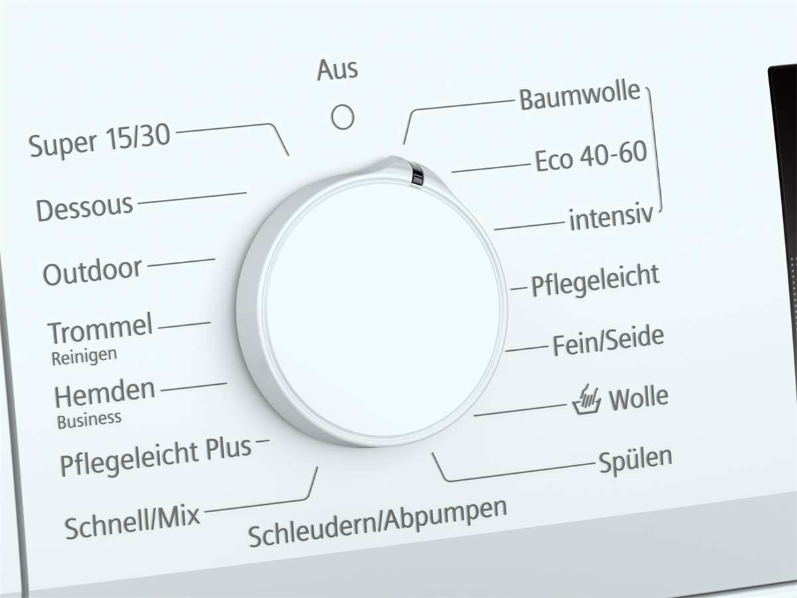 Siemens WM14N122 Waschmaschine Weiß