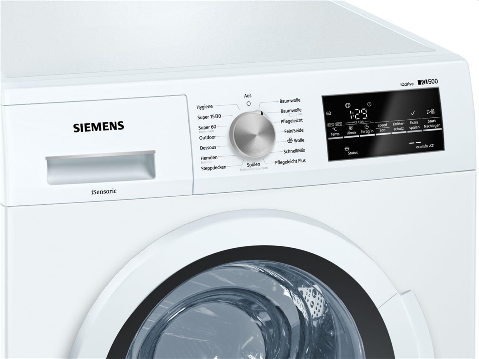 siemens wm14t420 waschmaschine wei. Black Bedroom Furniture Sets. Home Design Ideas