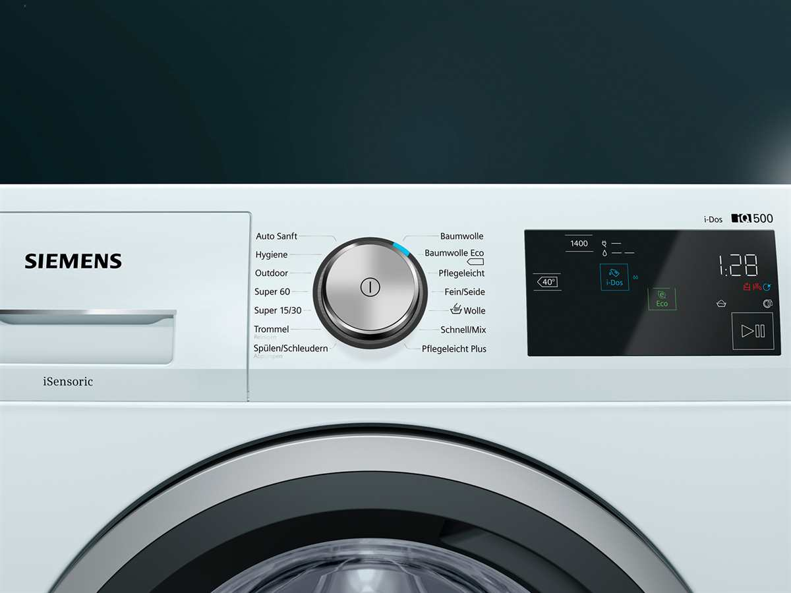 Siemens WM14T6A2 Waschmaschine Weiß