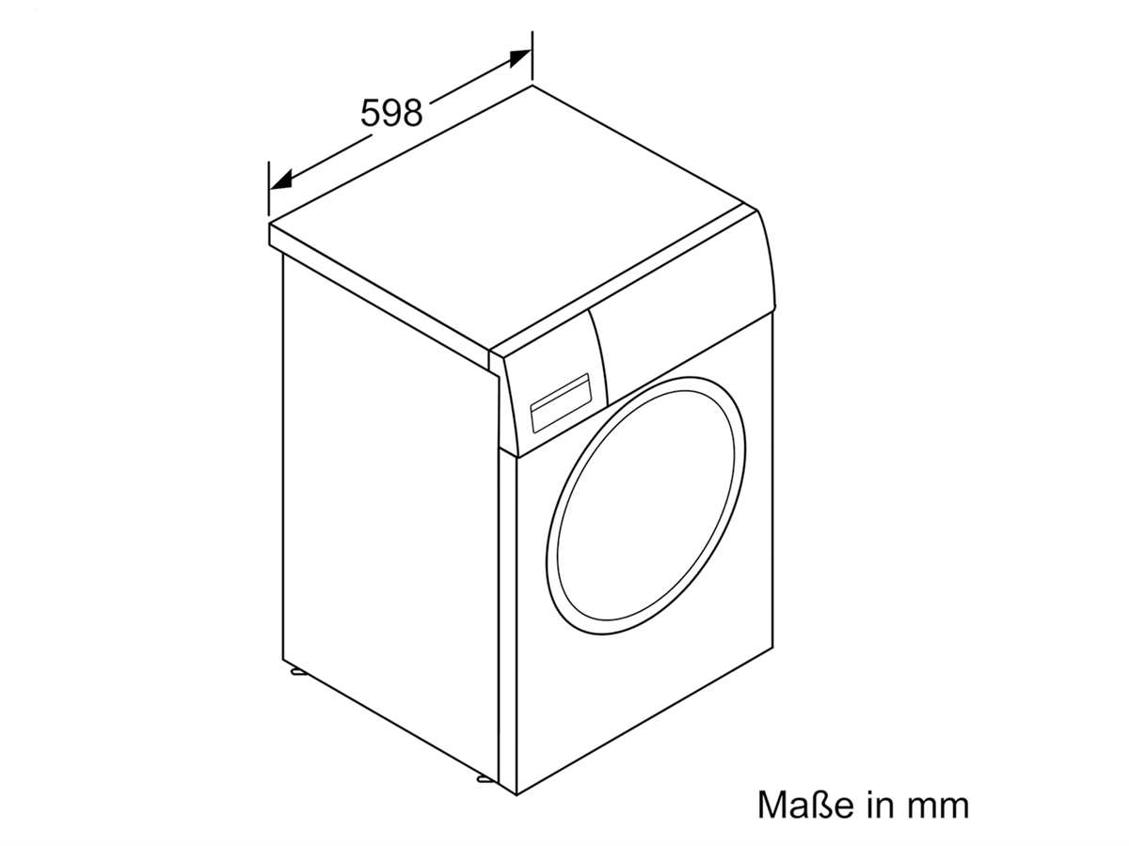 Siemens WM14T720 Waschmaschine Weiß