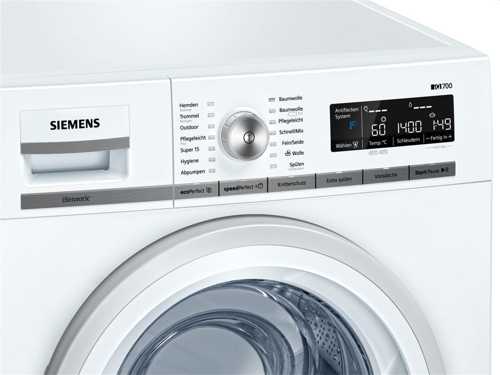 siemens wm14w570 waschmaschine wei ebay. Black Bedroom Furniture Sets. Home Design Ideas
