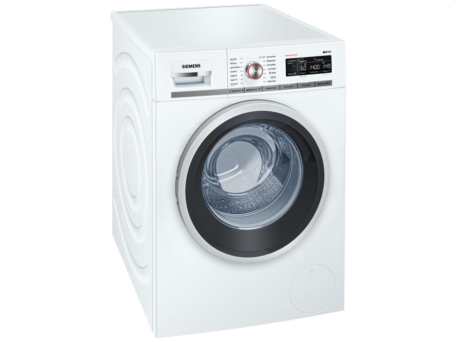 siemens wm14w5fcb waschmaschine wei ebay. Black Bedroom Furniture Sets. Home Design Ideas
