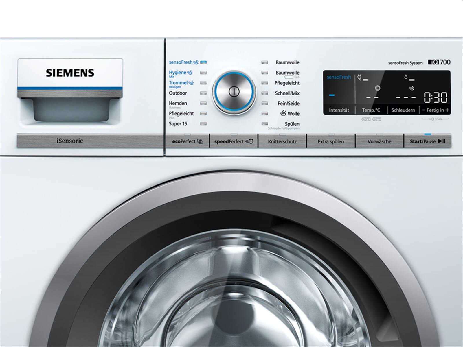 siemens wm14w740 waschmaschine wei ebay. Black Bedroom Furniture Sets. Home Design Ideas