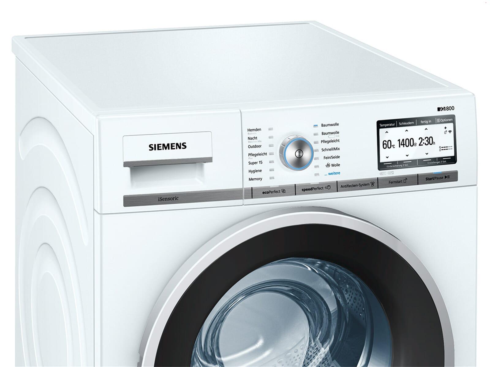siemens wm4yh7w0 waschmaschine wei ebay. Black Bedroom Furniture Sets. Home Design Ideas