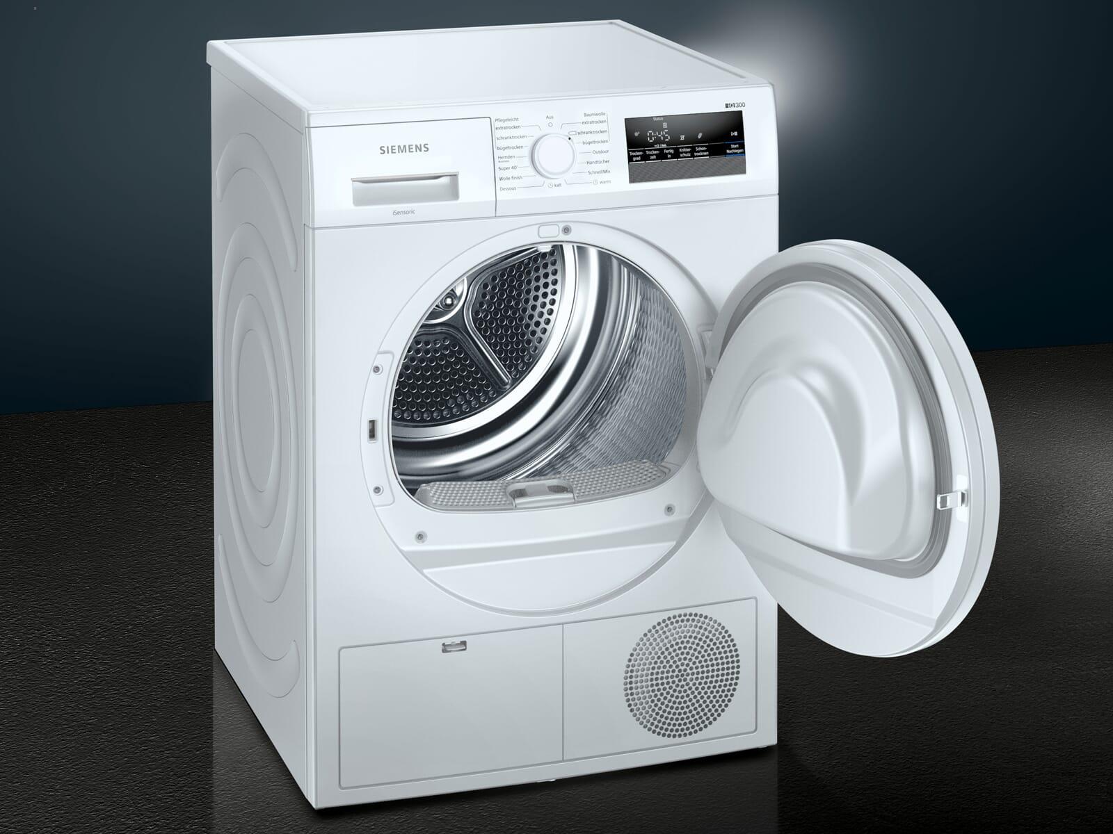 Siemens WT43HV00 Trockner Weiß