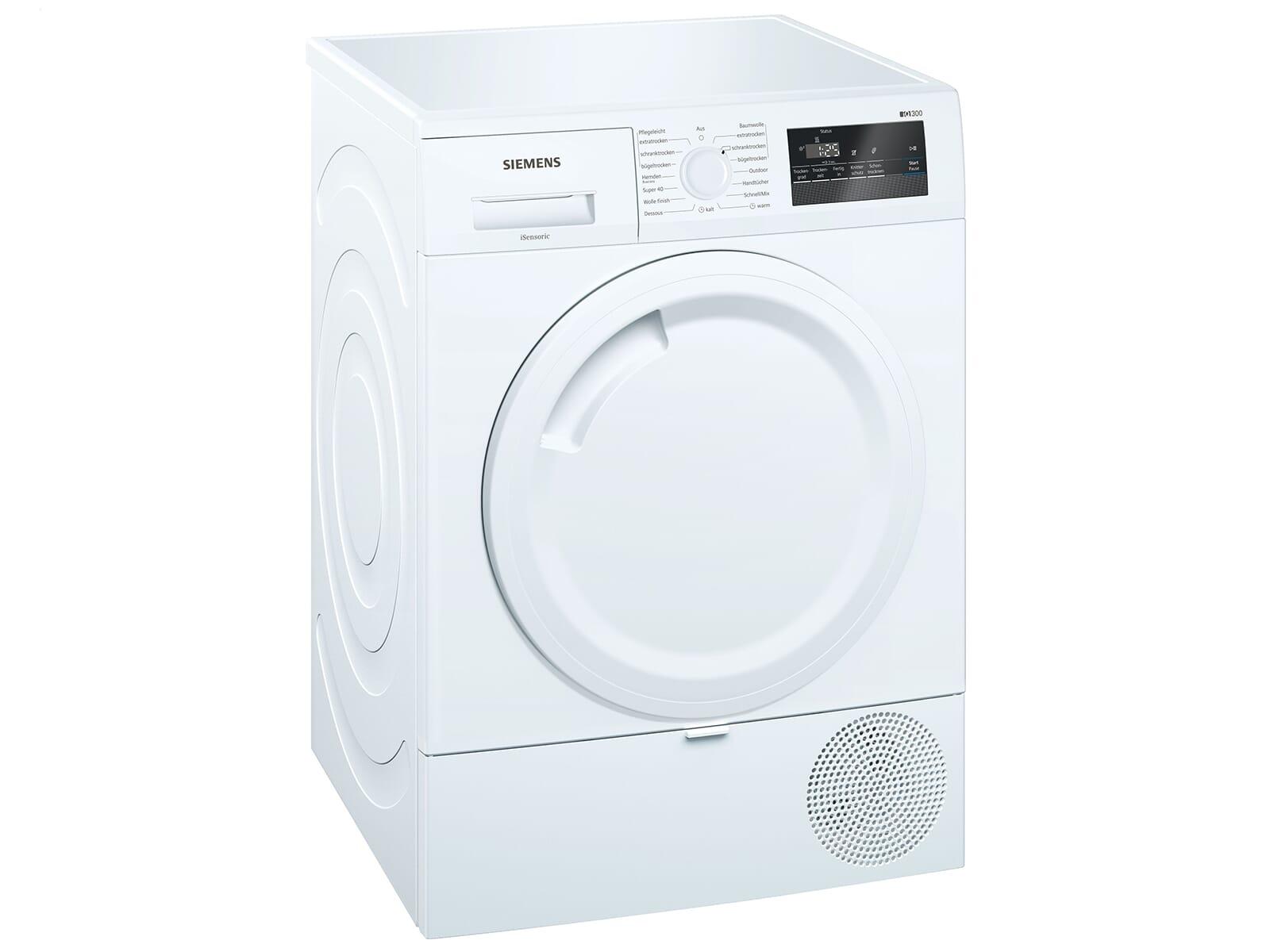 Siemens WT43RV00 Trockner Weiß