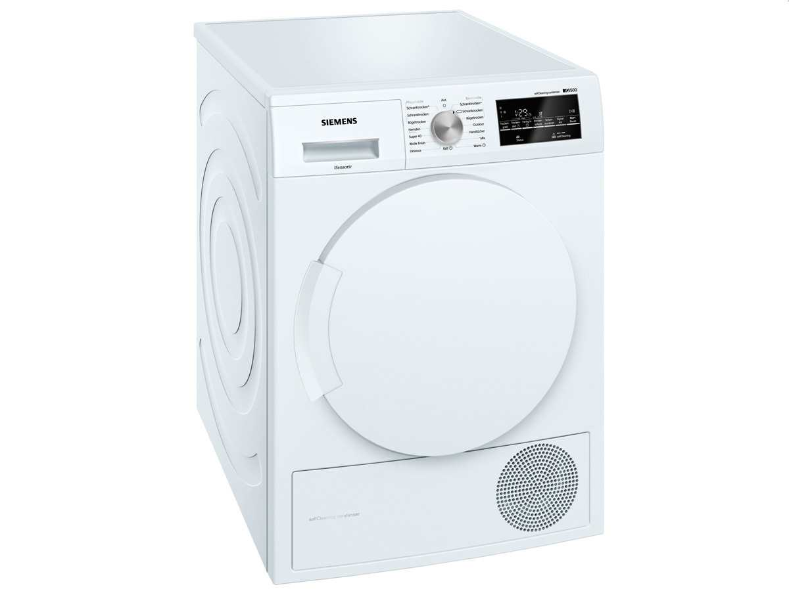 Innenarchitektur Trockner Referenz Von Produktabbildung Siemens Wt43w460 Stand Weiß