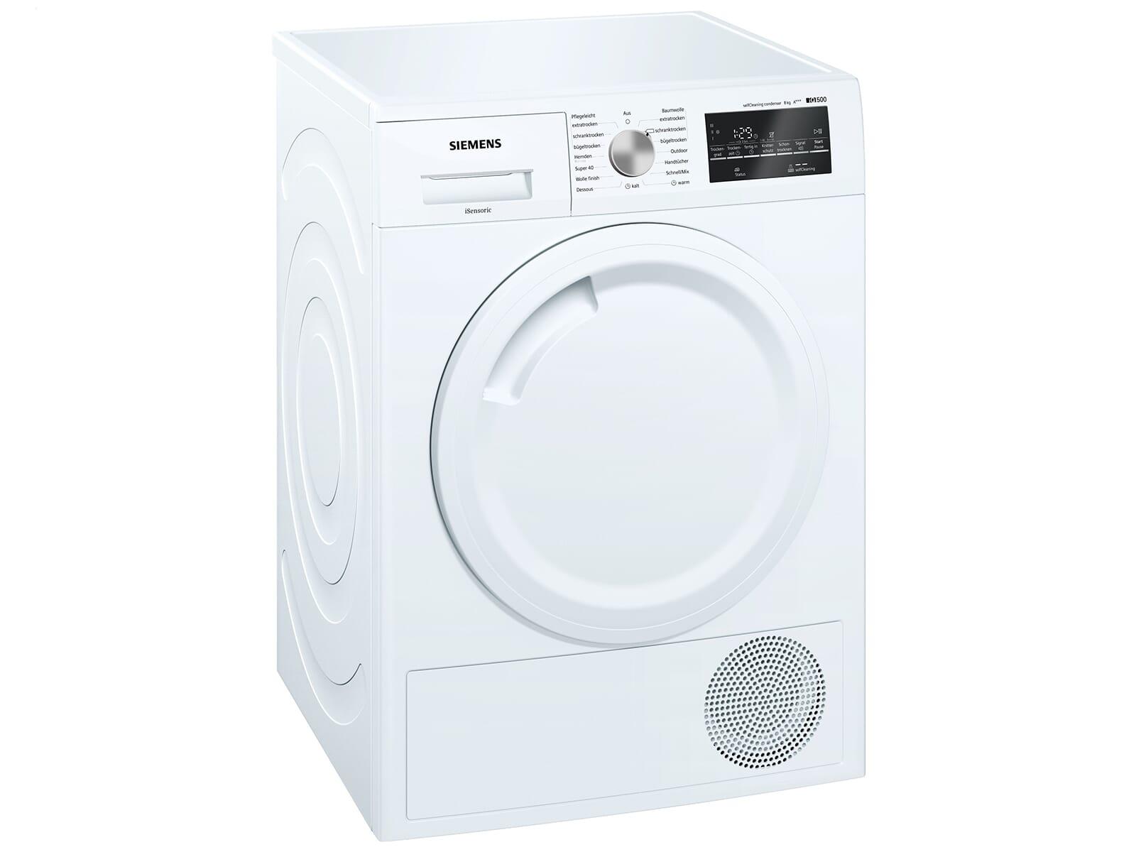 Siemens WT44W4A3 Trockner Weiß
